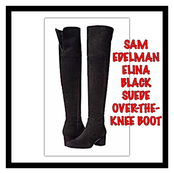 530b6ff4fcf08 Sam Edelman Elina Over The Knee Suede Boot